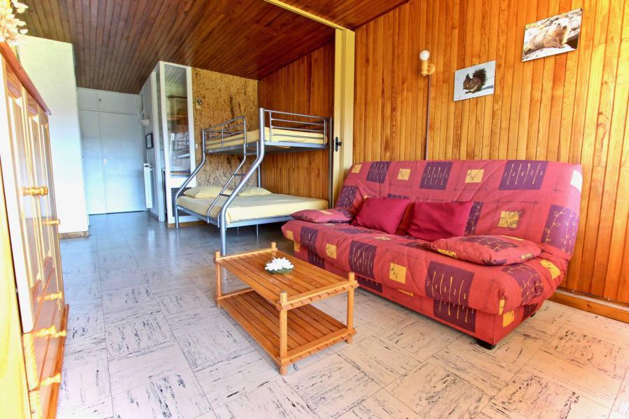 Аренда на лыжном курорте Квартира студия для 4 чел. (507) - Résidence l'Arselle - Chamrousse - Диван-кровать