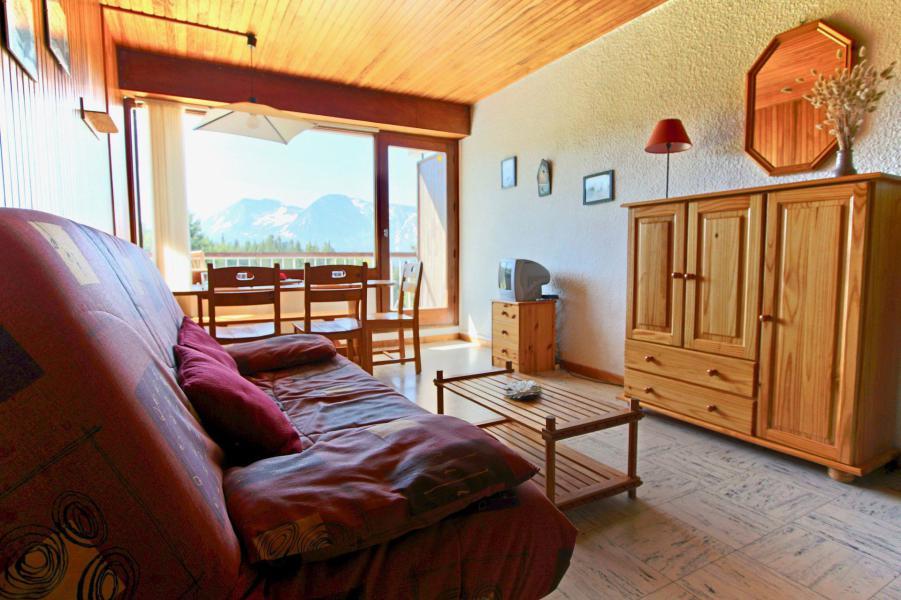 Аренда на лыжном курорте Квартира студия для 4 чел. (507) - Résidence l'Arselle - Chamrousse - Комната