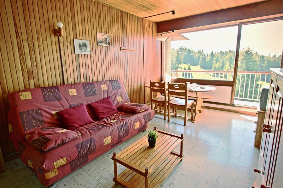 Аренда на лыжном курорте Квартира студия для 4 чел. (507) - Résidence l'Arselle - Chamrousse - Стол