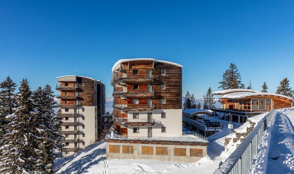 Location au ski Résidence l'Ecrin des Neiges - Chamrousse - Extérieur hiver