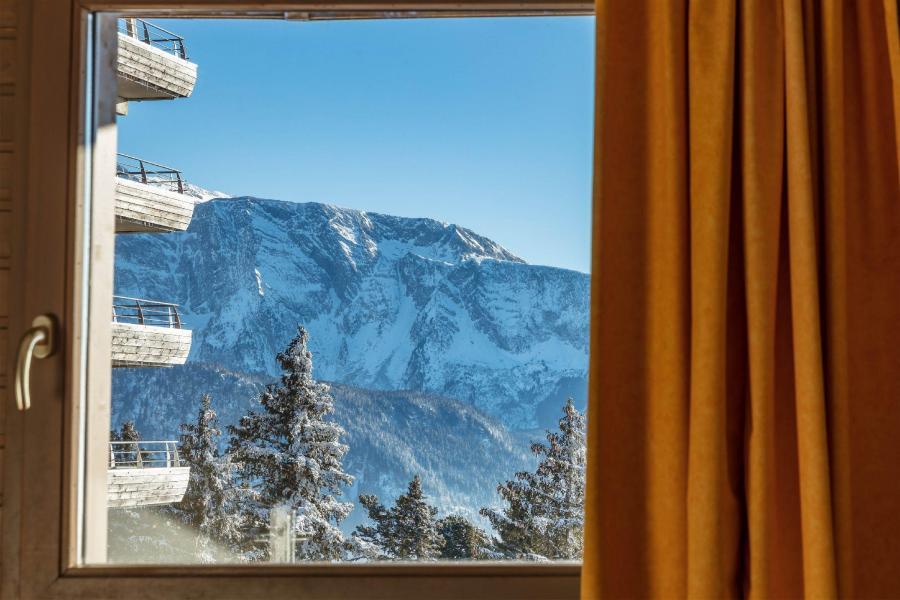 Location au ski Résidence l'Ecrin des Neiges - Chamrousse - Fenêtre