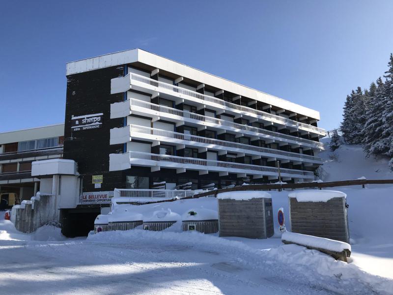 Vacances en montagne Résidence le Bellevue - Chamrousse - Extérieur hiver