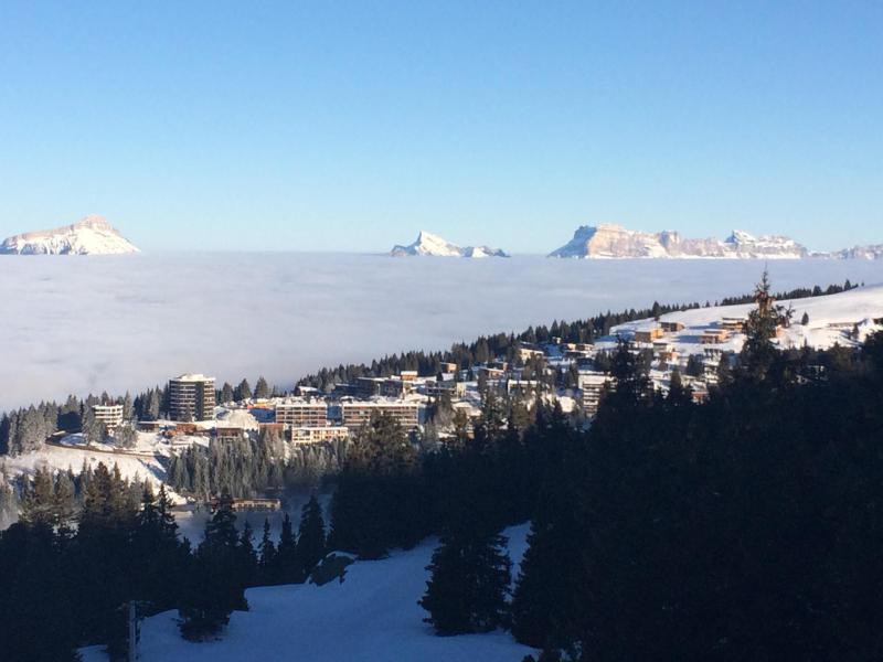 Vacances en montagne Appartement 2 pièces 6 personnes (205) - Résidence le Chamois - Chamrousse - Extérieur hiver