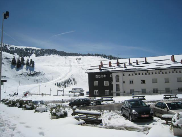 Vacances en montagne Studio coin montagne 4 personnes (108) - Résidence le Chamois - Chamrousse - Extérieur hiver