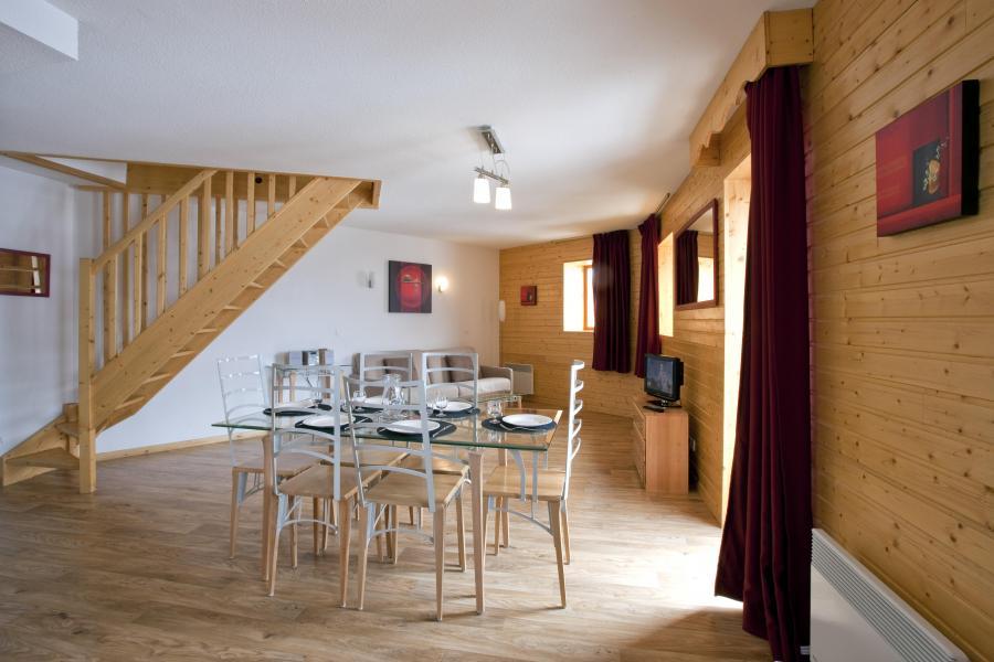 Location au ski Residence Les Balcons De Recoin - Chamrousse - Séjour