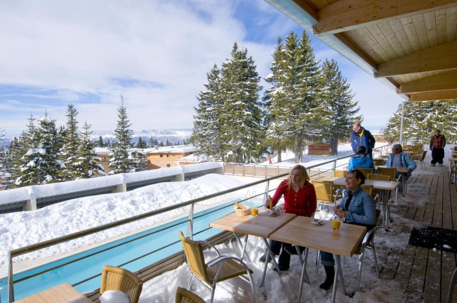 Location au ski Résidence les Villages du Bachat - Chamrousse - Extérieur hiver