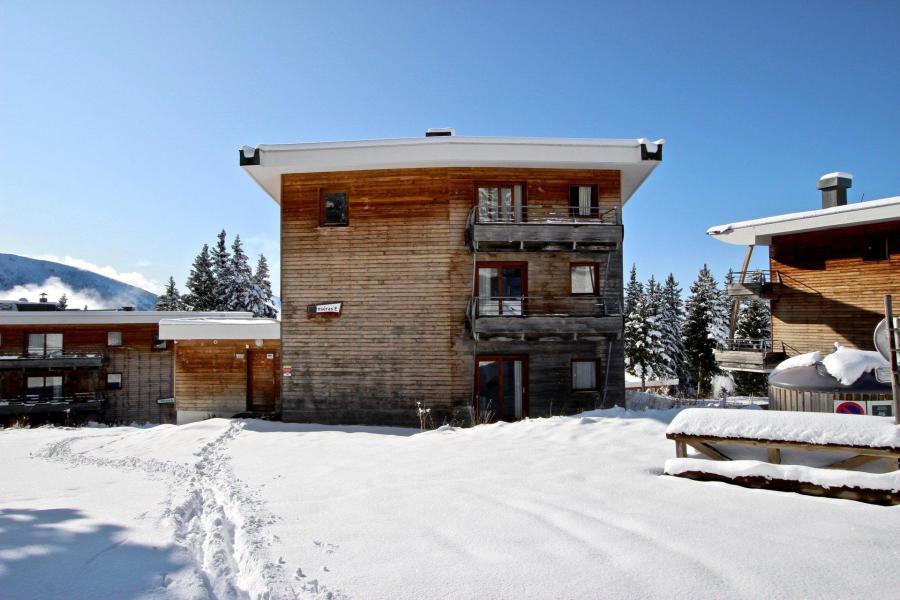 Vacances en montagne Résidence les Villages du Bachat Droseras - Chamrousse - Extérieur hiver