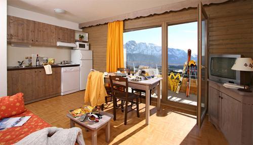 Location au ski Residence L'ecrin Des Neiges - Chamrousse - Séjour