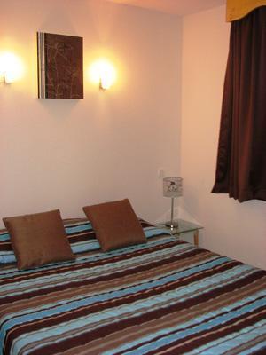 Location au ski Appartement 2 pièces 4 personnes - Residence Les Balcons De Recoin - Chamrousse - Chambre