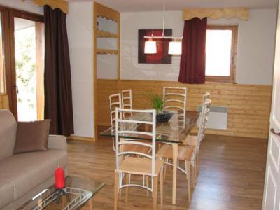 Location au ski Appartement 3 pièces 6 personnes - Residence Les Balcons De Recoin - Chamrousse - Séjour