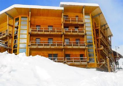 Location au ski Residence Les Balcons De Recoin - Chamrousse - Extérieur hiver