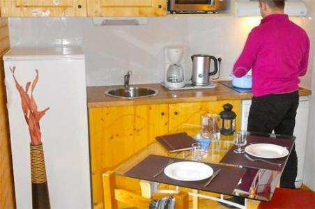 Location au ski Residence Les Balcons De Recoin - Chamrousse - Cuisine