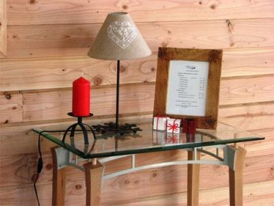 Location au ski Residence Les Balcons De Recoin - Chamrousse - Table