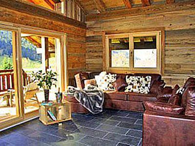 Location au ski Appartement triplex 9 pièces 18 personnes - Chalet Nostalgie - Chatel - Séjour