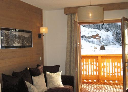Location au ski Residence Le Grand Ermitage - Chatel - Séjour