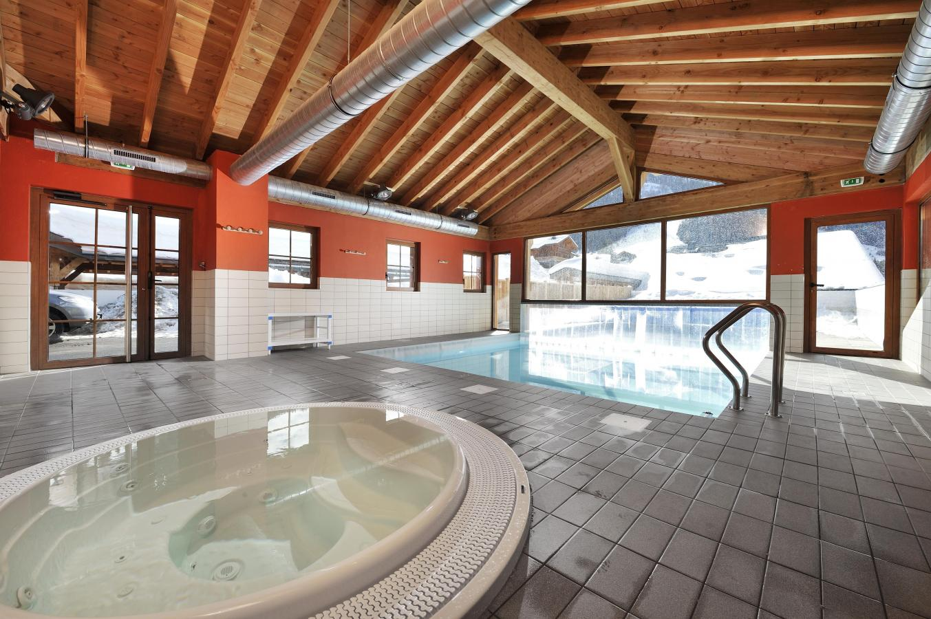 Location au ski Residence Le Grand Lodge - Chatel - Jacuzzi