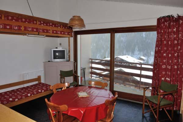 Location au ski Studio 3 personnes (21) - Residence Les Ambrunes - Chatel - Table