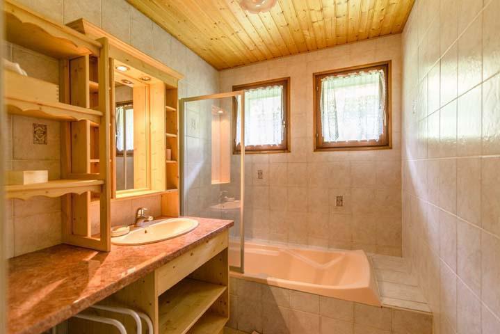 Аренда на лыжном курорте Апартаменты 3 комнат 7 чел. (1) - Chalet Beau Regard - Châtel - Ванна