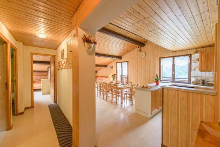 Аренда на лыжном курорте Апартаменты 3 комнат 7 чел. (1) - Chalet Beau Regard - Châtel - Коридор