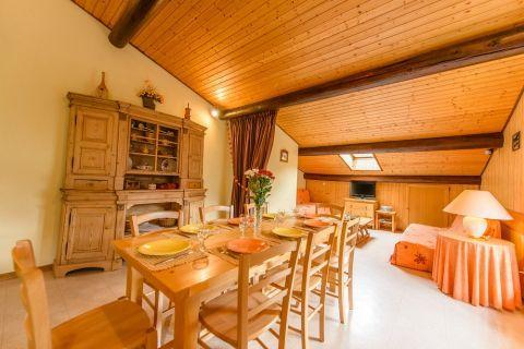 Аренда на лыжном курорте Апартаменты 3 комнат 7 чел. (1) - Chalet Beau Regard - Châtel - Стол