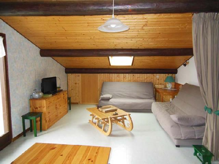 Аренда на лыжном курорте Апартаменты 3 комнат 7 чел. (2) - Chalet Beau Regard - Châtel - Салон