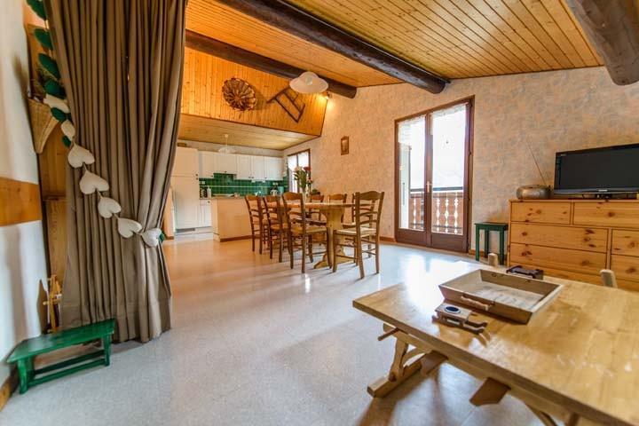 Аренда на лыжном курорте Апартаменты 3 комнат 7 чел. (2) - Chalet Beau Regard - Châtel - Стол