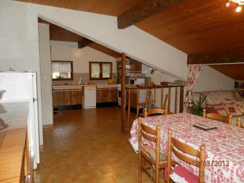 Vacaciones en montaña Apartamento 2 piezas para 5 personas - Chalet Bel Horizon - Châtel - Invierno