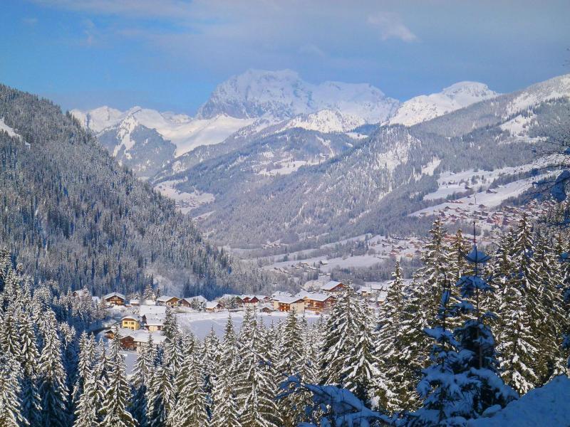 Vacaciones en montaña Chalet Châtel CBN01 - Châtel - Invierno