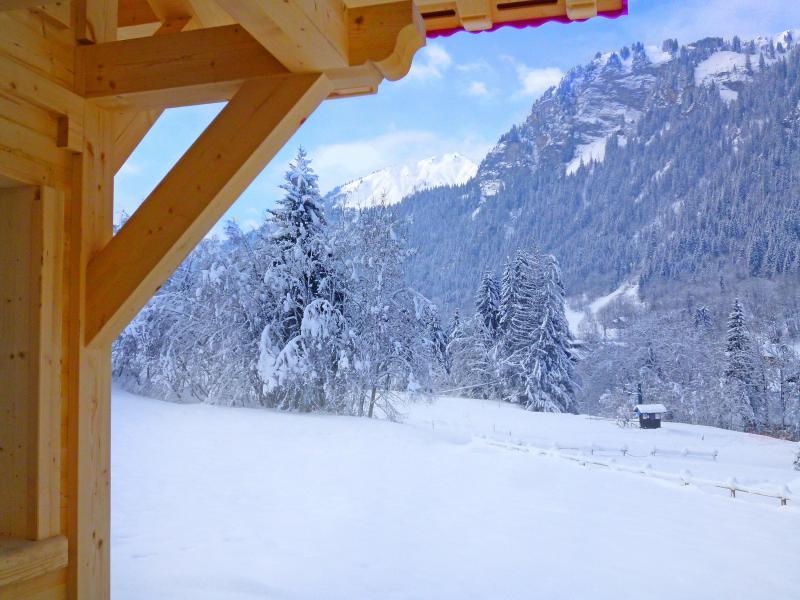 Vacaciones en montaña Chalet Châtel CPN01 - Châtel - Invierno