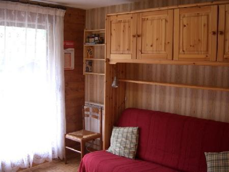 Rent in ski resort 2 room apartment sleeping corner 5 people (11B) - Chalet du Perthuis - Châtel - Living room