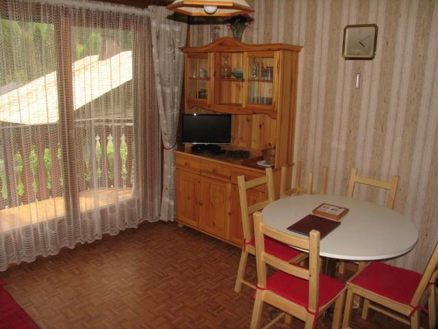 Rent in ski resort 2 room apartment sleeping corner 5 people (8A) - Chalet du Perthuis - Châtel - Living room