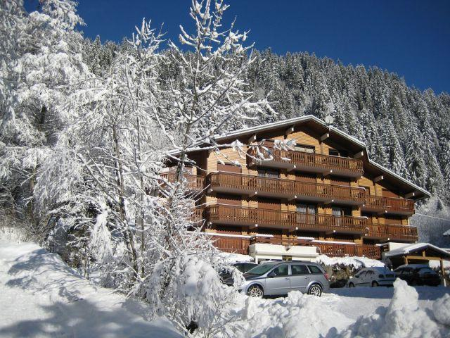 Rent in ski resort 2 room apartment sleeping corner 5 people (11B) - Chalet du Perthuis - Châtel