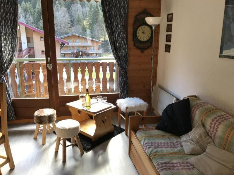 Rent in ski resort 2 room apartment sleeping corner 5 people (12C) - Chalet du Perthuis - Châtel