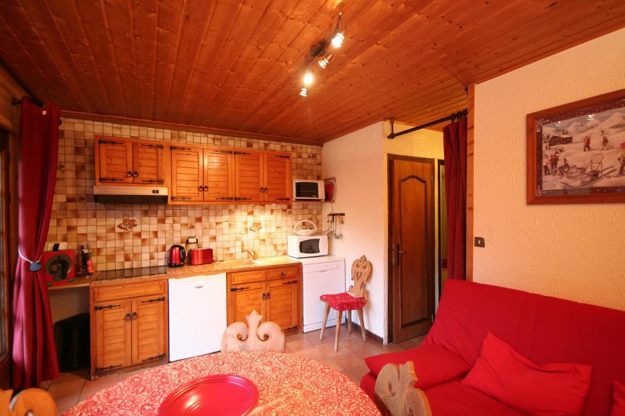 Vacaciones en montaña Apartamento cabina 2 piezas para 5 personas - Chalet la Minaudière - Châtel - Invierno