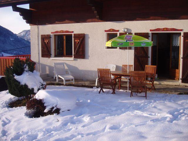 Vacaciones en montaña Apartamento 4 piezas para 8 personas (002) - Chalet les Pensées - Châtel - Invierno