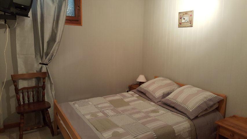 Location au ski Appartement 4 pièces 8 personnes (002) - Chalet les Pensées - Châtel - Lit double