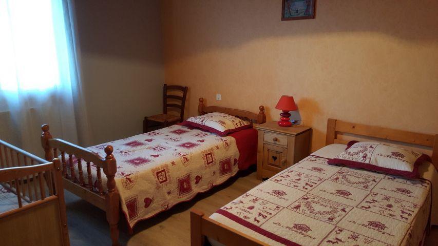 Location au ski Appartement 4 pièces 8 personnes (002) - Chalet les Pensées - Châtel - Lit simple
