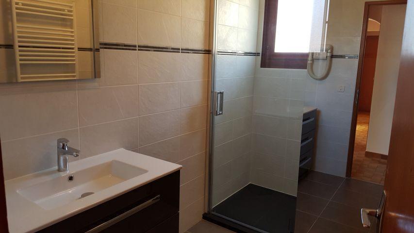 Location au ski Appartement 4 pièces 8 personnes (002) - Chalet les Pensées - Châtel - Salle de bains