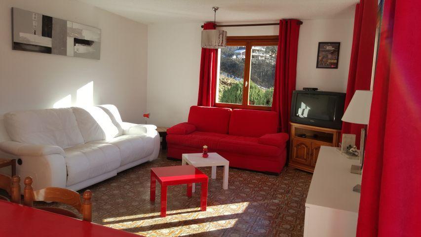 Location au ski Appartement 4 pièces 8 personnes (002) - Chalet les Pensées - Châtel - Séjour