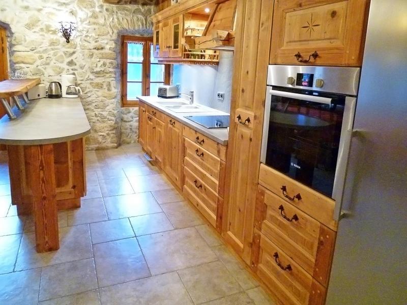 Location au ski Chalet Petit Chatel - Châtel - Cuisine