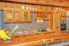 Аренда на лыжном курорте Chalet Petit Châtel - Châtel - Кухня
