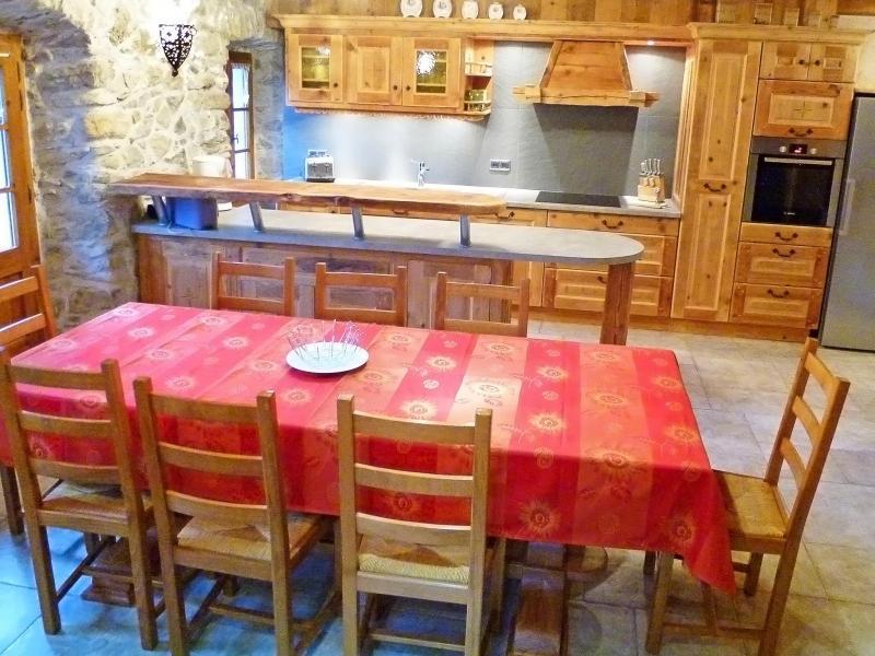 Location au ski Chalet Petit Chatel - Châtel - Salle à manger