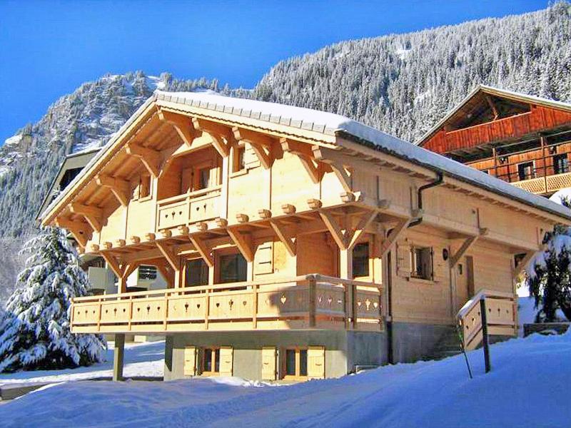 Location au ski Chalet Ramoneur Savoyard - Châtel - Extérieur hiver