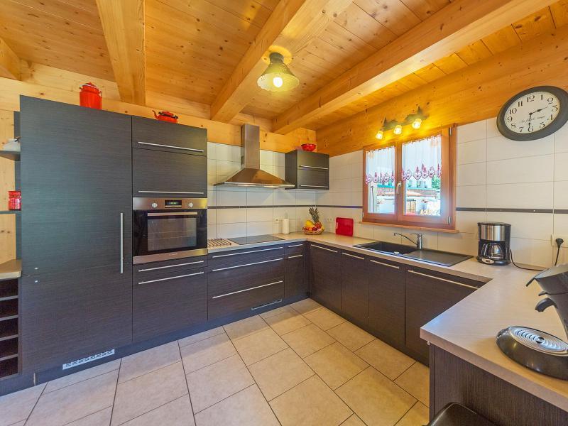 Location au ski Chalet Ramoneur Savoyard - Châtel - Cuisine