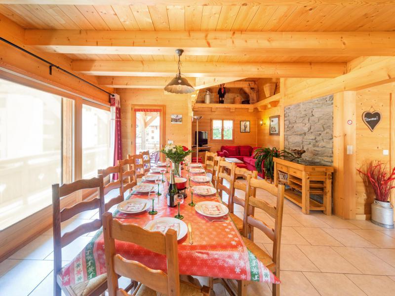 Location au ski Chalet Ramoneur Savoyard - Châtel - Séjour