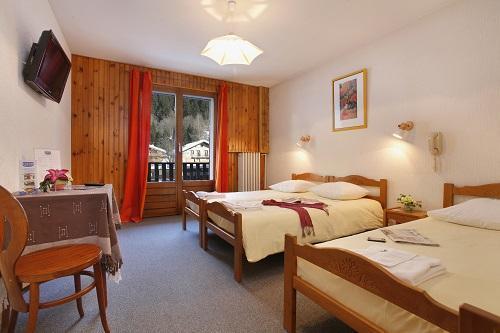 Location au ski Hôtel Eliova l'Eau Vive - Châtel - Chambre