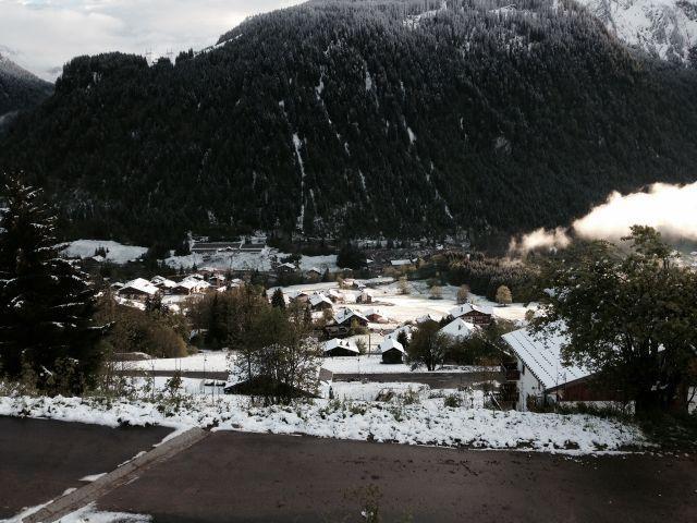 Wakacje w górach Studio z alkową 3 osoby (5B) - La Résidence l'Alpage - Châtel - Zima na zewnątrz