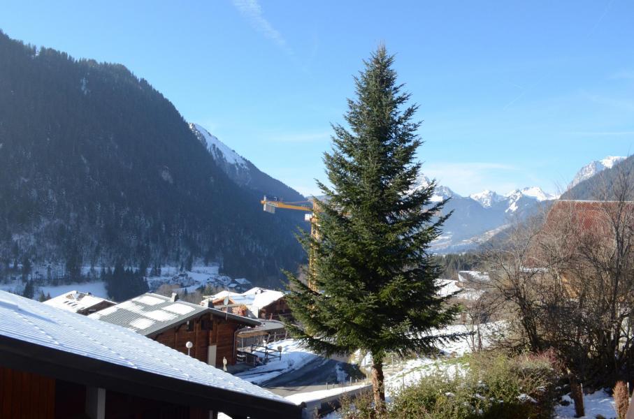 Wakacje w górach Studio z alkową 3 osoby - La Résidence les Montagnys - Châtel - Zima na zewnątrz