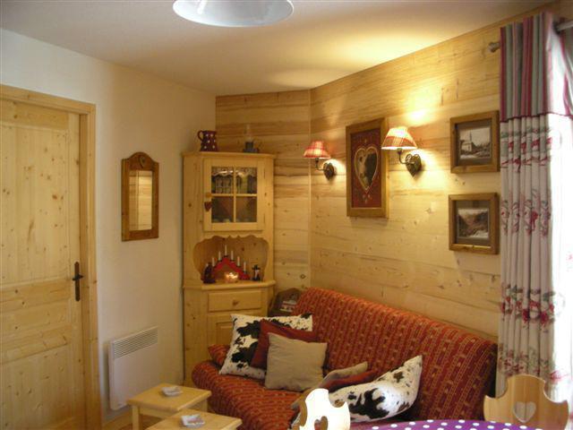 Location au ski Appartement 3 pièces 4 personnes - Les Balcons de Châtel - Châtel - Canapé