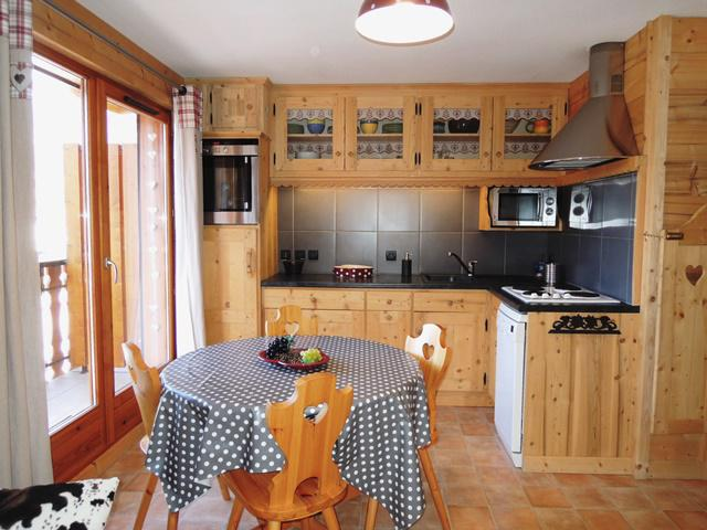 Location au ski Appartement 3 pièces 4 personnes - Les Balcons de Châtel - Châtel - Table